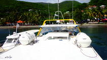 Glass-bottomed boat in the Cousteau Reserve, Guadeloupe, Day Cruises