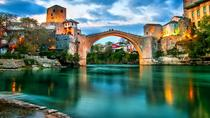Mostar Pocitelj Kravice Waterfalls and Village Ravno Winetasting Private Tour from Dubrovnik,...