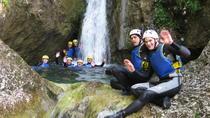 Canyoning Persjak, Slovenia, Climbing