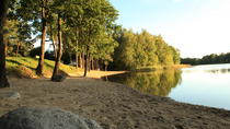 Beach by the lake in the forest, Vilnius, Day Trips