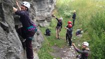 Privately Guided Rock Climbing - Half Day, Queenstown, Climbing