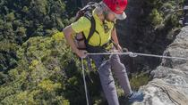Small-Group Full-Day Abseiling Adventure from Katoomba, Blue Mountains, Climbing