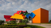 Biomuseo Including Permanent Exhibitions, Temporary Exhibitions, and Botanical Park, Panama City, ...