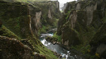 Amazing Fjadrargljufur Canyon, Fagrifoss waterfall and secret volcanic craters, Vik