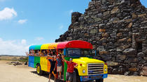 Colorful Beach Bus Sightseeing Tour of Aruba, Aruba, Half-day Tours