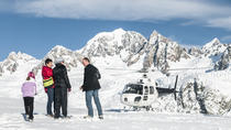 Flight option 3 - Twin Glacier including snow landing, Franz Josef & Fox Glacier, Helicopter ...