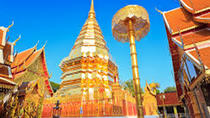 Full Day Private Tour Doi Suthep temple on hill & Doi Inthanon national park, Chiang Mai, ...