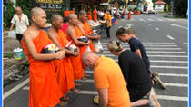 Mornings alms offering to Monks - Stunning Doi Suthep - Mae Ping River Cruise, Chiang Mai,...