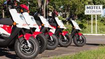 5-Hours Single scooter rental on Ile d'Orleans, Quebec City, Vespa Rentals