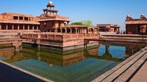 Agra to Jaipur by Private vehicle including visit to famous Fatehpur Sikri, Agra, Airport & Ground...