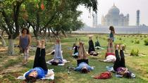 One Hour Yoga Session with view of the beautiful Taj Mahal, Agra, Yoga Classes