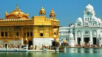 Private Wagah Border Drama and the Golden Temple with Transfer, Amritsar, Private Transfers