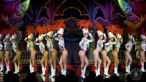 Moulin Rouge Late Night Show met champagne, Parijs, Cabaret