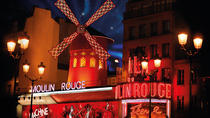 Show på Moulin Rouge, Paris, Paris, Cabaret