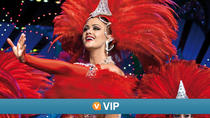 VIP Viator : spectacle au Moulin Rouge avec places exclusives VIP et dîner de 4 plats, Paris