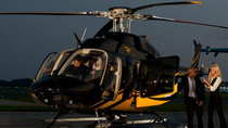 Privétransfer per helikopter van luchthavens in New York naar Lower Manhattan, New York City, ...