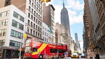 Super New York-pakken inkluderer hopp-av-og-på-tur, observatorium og Frihetsgudinnen, New York City, Hop-on Hop-off Tours