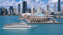 Spirit of Chicago dinercruise bij zonsondergang met buffet, Chicago, Dinercruises