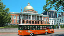 Hopp-på-hopp-av-busstur med trolleybuss i Boston med havnecruise, Boston, Hop-on Hop-off Tours