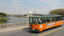 Washington DC Super Saver: Hop-on Hop-off Trolley and Monuments by Moonlight Tour, Washington DC