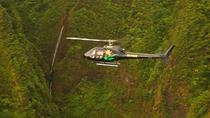 60-minute Oahu Helicopter Tour: Ali'i Sacred Falls, Oahu, Movie & TV Tours