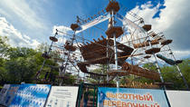 Admission ticket to the Adventure Rope Park Skytown, Moscow, 4WD, ATV & Off-Road Tours