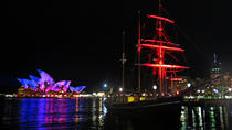 Sydney Harbour Großsegler VIVID Dinner Cruise, Sydney, Night Cruises