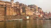 Evening Excursion: Ganga River Walking Tour with Dinner Overlooking the River in Varanasi, ...