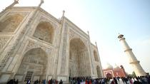 Small Group Day Trip from Delhi to Agra Including Entrance to Taj Mahal and Agra Fort, Neu-Delhi