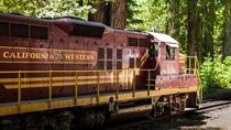 Skunk Train: Northspur Flyer from Willits, Sacramento, Cultural Tours
