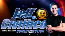 Jeff Civillico: Comedy in Action at the Paris Las Vegas, Las Vegas, Rail Services