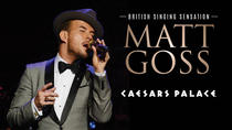 Matt Goss en el Caesars Palace Hotel and Casino