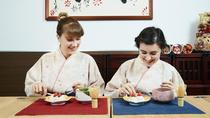 Japanese sweets making and Tea Ceremony in Osaka, Osaka, Cooking Classes