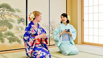 Tea Ceremony in a Kimono in Osaka