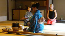 Japanese Tea Ceremony with a Tea Master at Wakwak-kan, Kyoto, null