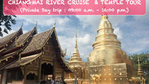 Private Chiangmai River Cruise und Tempeltour, Chiang Mai, Private Sightseeing Tours