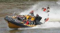 High-Speed-Flussfahrt auf der Themse, London, Day Cruises