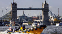 River Thames High-Speed Cruise from Embankment Pier, London, Day Cruises
