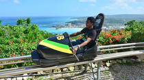 Excursion Rainforest Adventures en bobsleigh sur Mystic Mountain, en Jamaïque, Montego Bay, ...