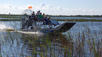 Privétour: moerasboottour door de Everglades in Florida en expositie van wilde dieren, Everglades National Park, Airboat Tours