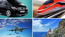 Private Transfer: From Amalfi (hotel) to Naples (hotel-airport-train station), Amalfi, Private ...