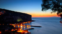 Sorrento Coast Boat Tour at Sunset with dinner in a typical restaurant, Sorrento, Day Cruises