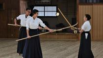 Learn the art of self-defense of samurai in the Edo Period from the acting master of Tendo-ryu,...