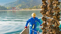 The First Tour in Hiroshima An oyster harvest with fishermen on a fishing boat!, Hiroshima, ...