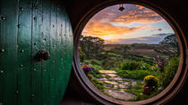 Waitomo Caves and Lord of the Rings Hobbiton Movie Set Tour including Lunch from Hamilton,...