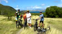 Biking Round The Nevis Island, Nevis