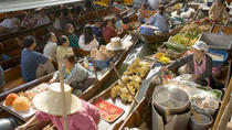 Private Damnoen Saduak Floating Market and Train Market Tour, Bangkok, Market Tours