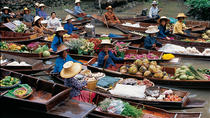 Private Tour to the Floating Market and Bridge over River Kwai, Bangkok, Market Tours