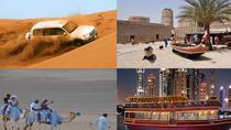 Hot Deal: Safari, Dhow Cruise Marina and Dubai City Tour Combo, Dubai, Dhow Cruises