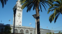 San Francisco-kombination: Matrundtur i Ferry Building och Alcatraz, San Francisco